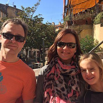 Familie Andersson im GC Gut Glinde